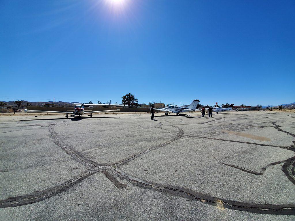 Multiple Planes on Ramp