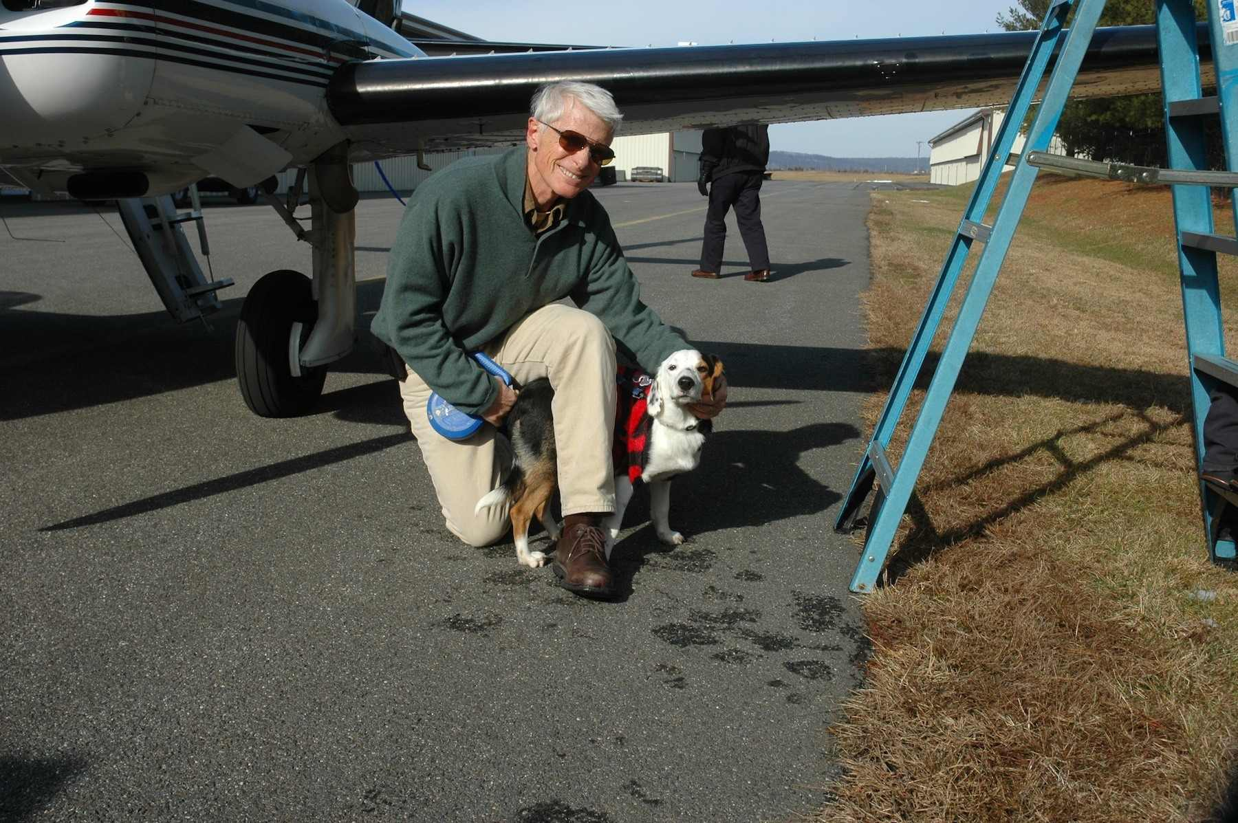 PNP Pilot Steve Shoop says goodbye to Dasher