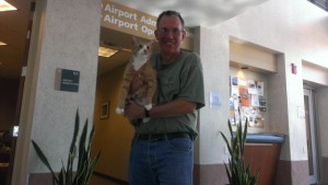 Dwayne and Skippy in Denver - Mission complete!
